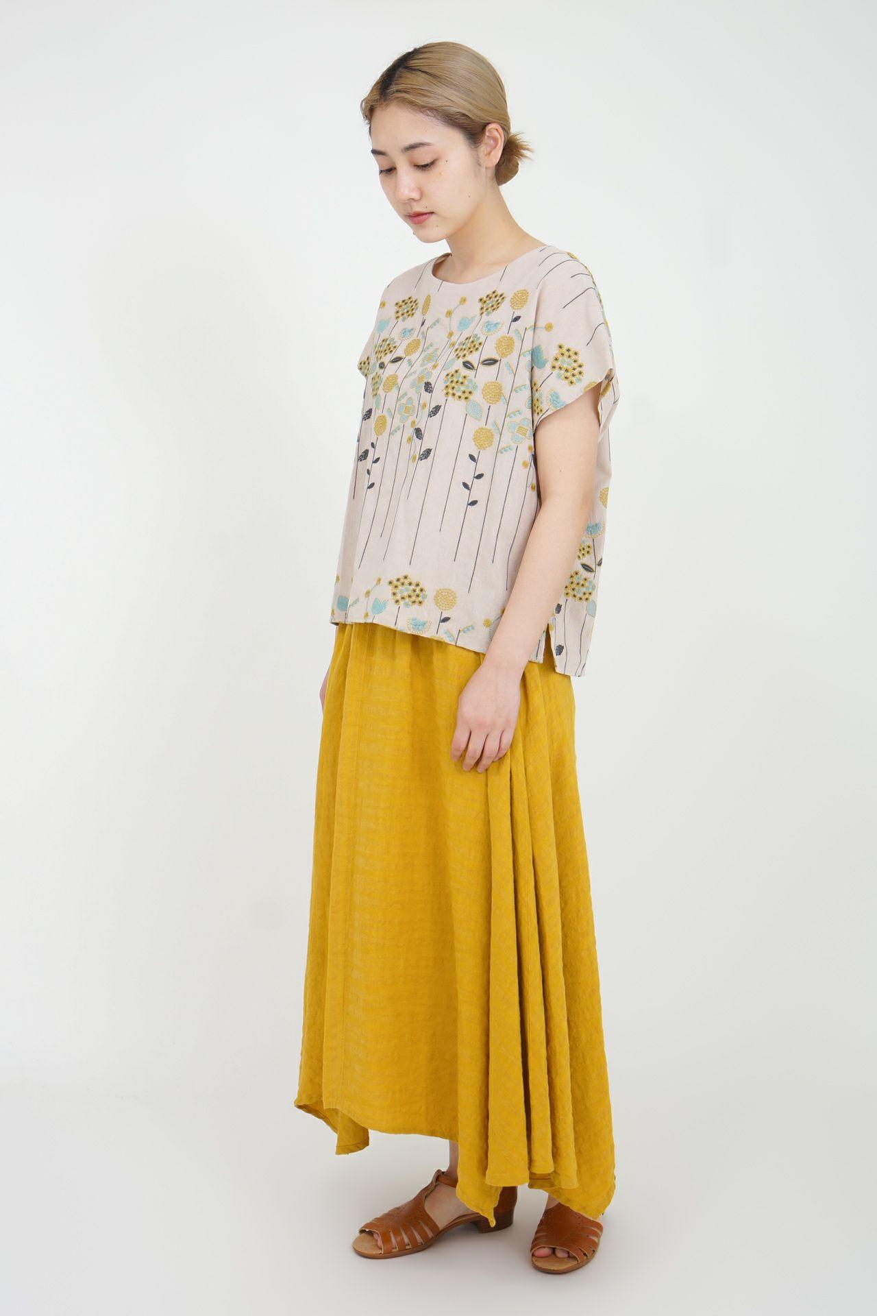 YELLOW/model:164cm
