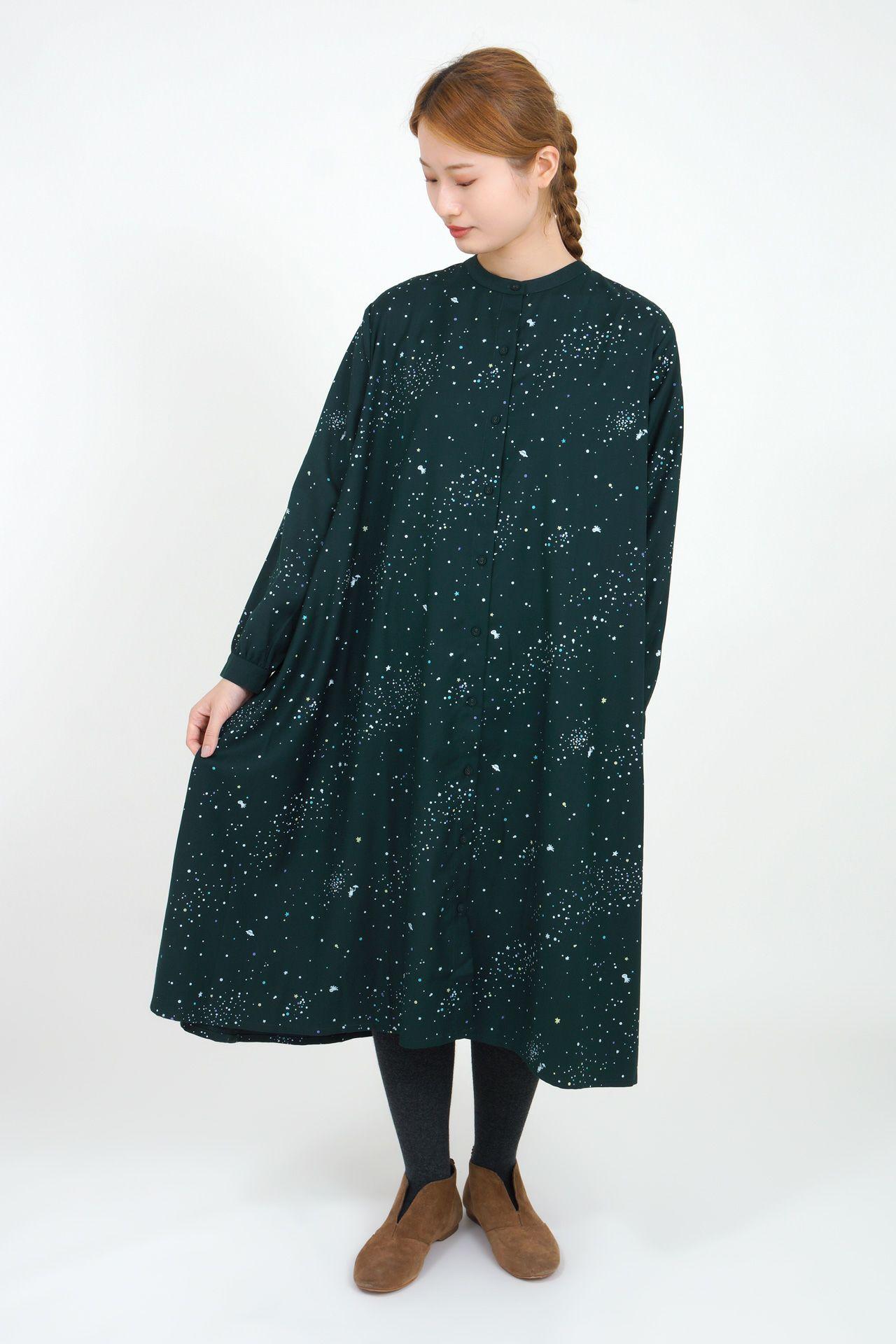 GREEN/model:165cm